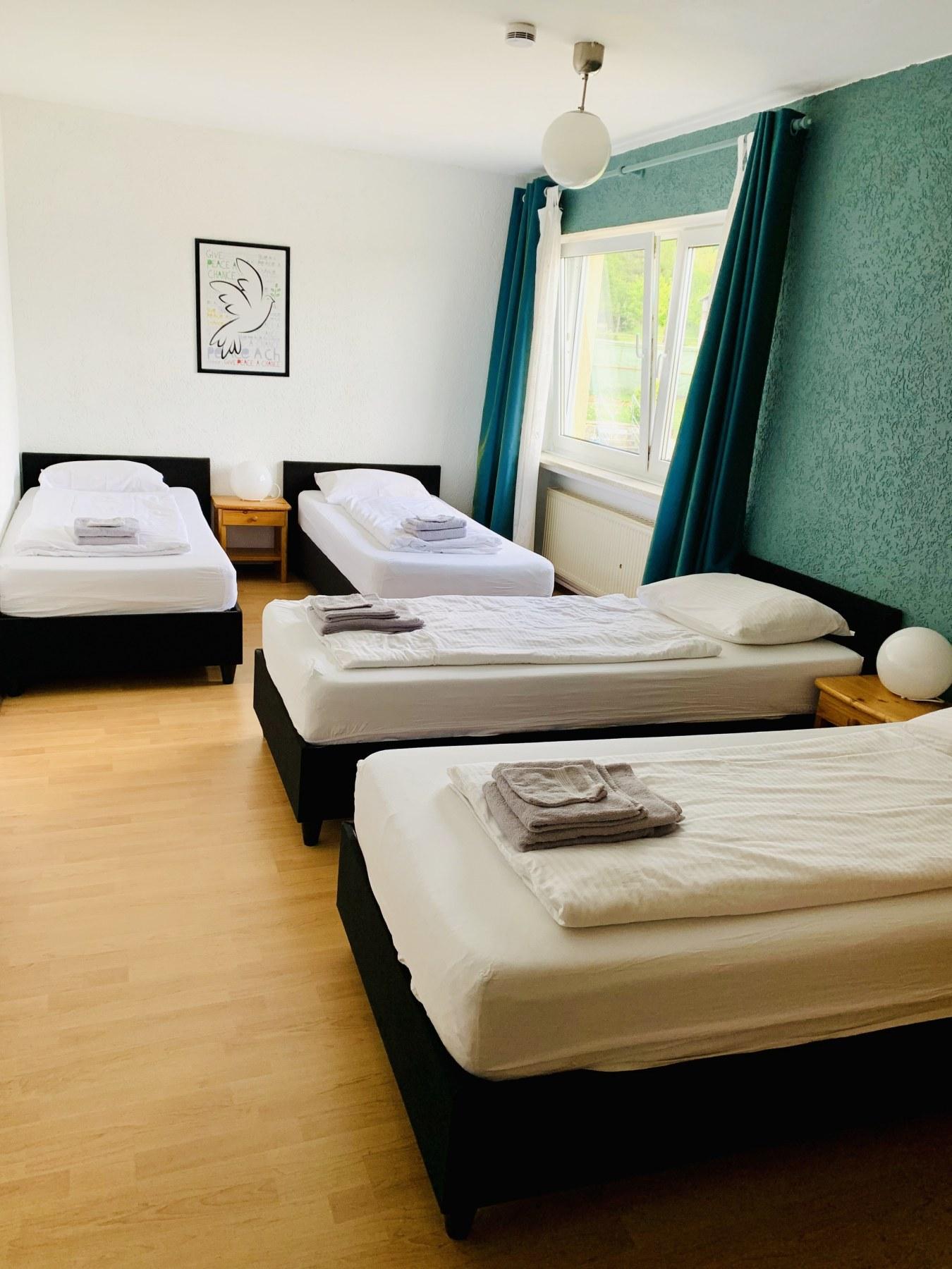 Ferienhaus Salm Slaapkamer vier personen